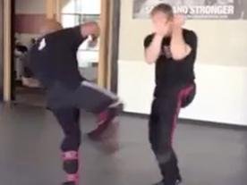 Defense v. Low Round Kick (Absorbing) Thumbnail