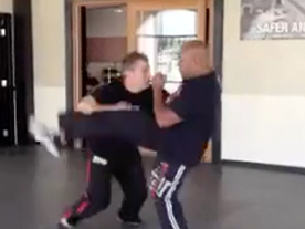 Outside Stabbing Defense v. Front Kick Thumbnail