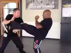 Reflexive Defense v. Front Kick Thumbnail
