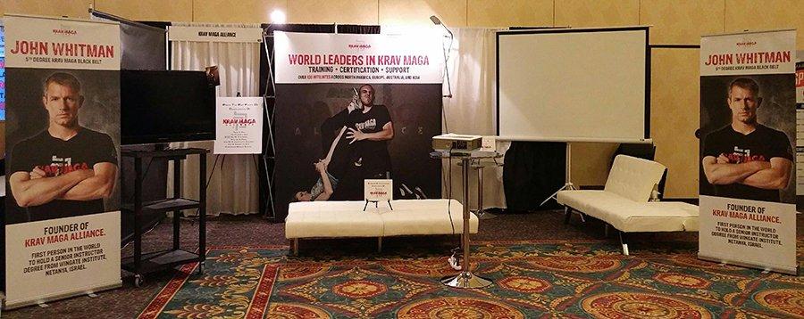 KMA Booth at MAIA