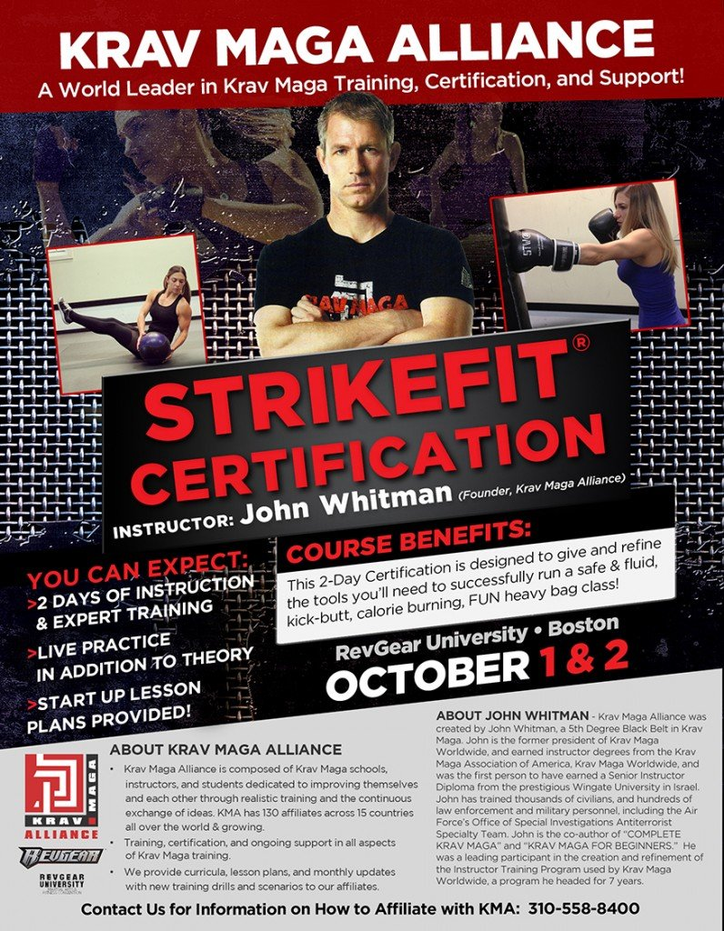 RevGear University Boston - StrikeFit Certification