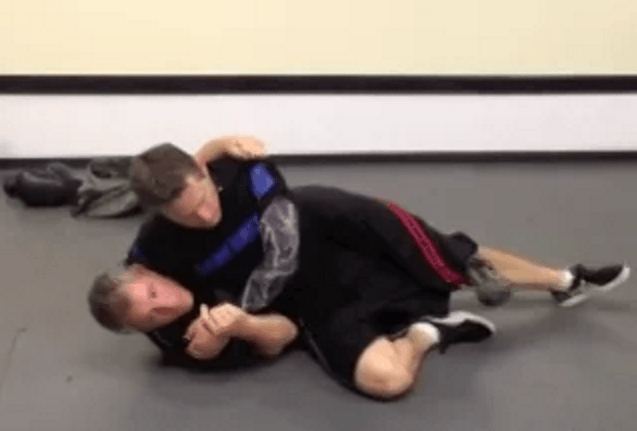 Ground Headlock from Side (Weight Forward)