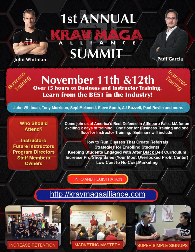 Krav Maga Alliance Summit 2016