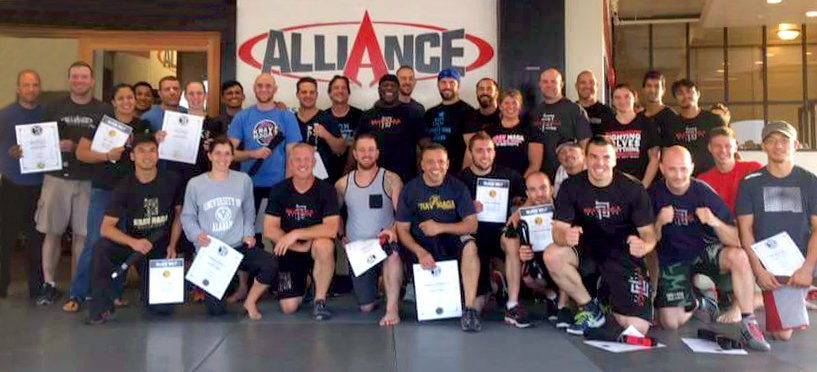 Krav Maga Alliance - Advanced Belt Test Weekend 2016