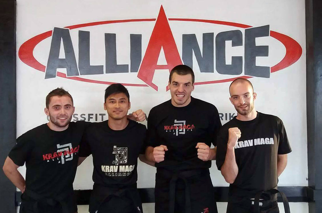 Brice Martens - Krav Maga Alliance - August 2016 Instructor of the Month