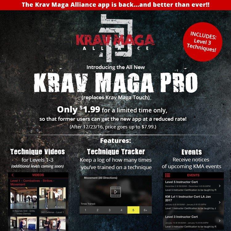 Krav Maga Alliance - Krav Maga App