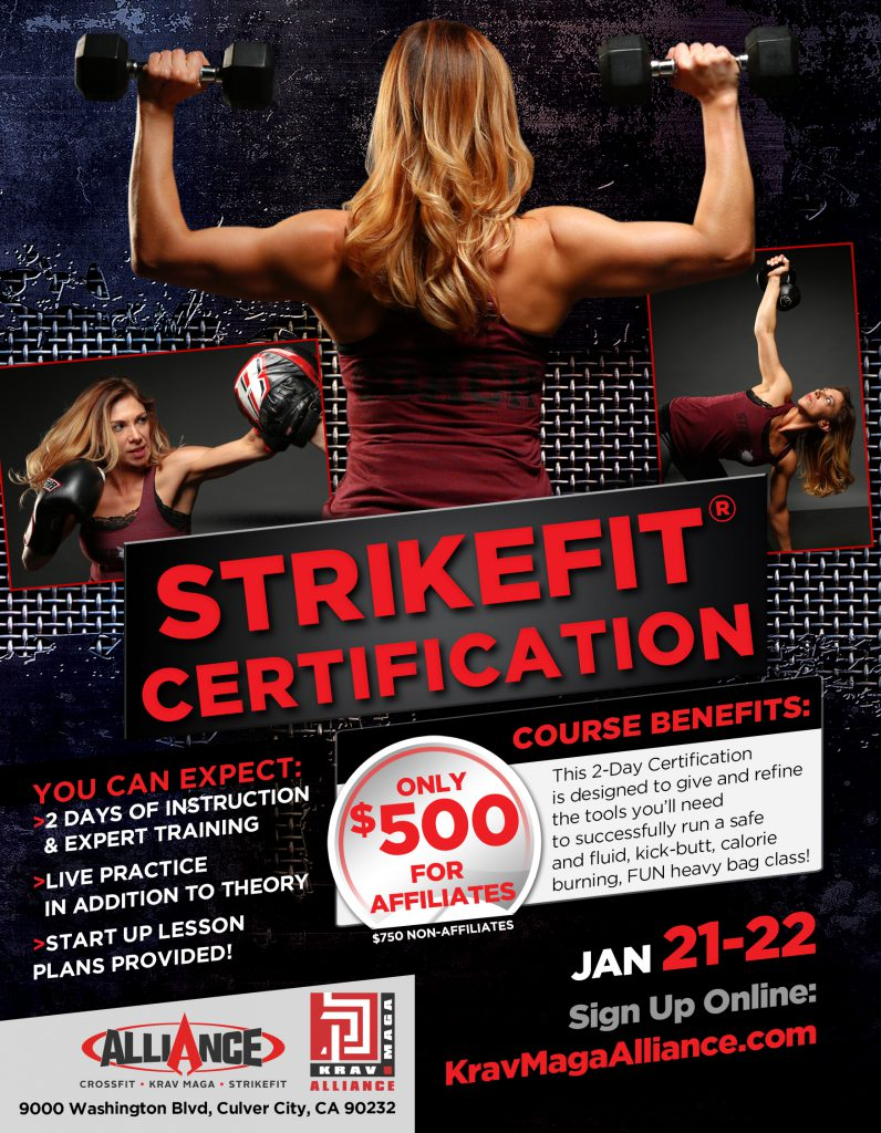 Krav Maga Alliance - StrikeFit Certification - January 2017