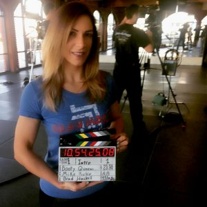 Rachel - Krav Maga Training for TV Show