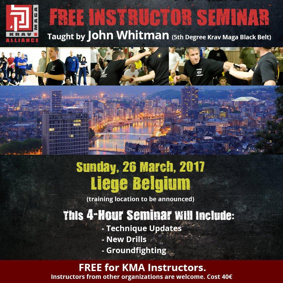 KMA - European Instructor Seminar - 2017
